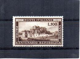 ITALIA 1949 SASSONE 600 NUOVO MLH TL * - 1946-60: Nuevos