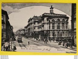 CPA - HONGRIE - BUDAPEST - Üllöi-uti Klinika - Klinik Auf Der Üllöerstrasse  - 1903 - Hongarije