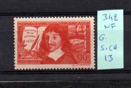 MAURY N° 342  NEUF SANS CHARNIERE COTE 13 € Lot N° 114 - 1921-1960: Période Moderne