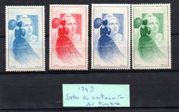 SALON DU CENTENAIRE DU TIMBRE 1949  COTE  € Lot N° 115 - Tourisme (Vignettes)