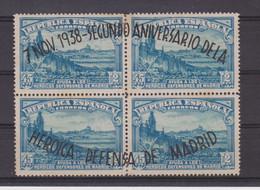 Año 1938 Edifil 789-790  Aniversario Defensa De Madrid - 1931-50 Nuovi