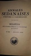 Annales Sedanaises 54 - Sedan - Evrard De La Marck - Mirbach - Unclassified