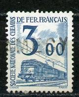 FRANCE -  COLIS POSTAUX 1960 - 3,00 BLEU -  Yt  N°43 OBLI - Oblitérés