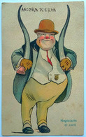 """Illustrazione """"Negoziante Di Corni"""" (Viaggiata 1923) - Humour"""