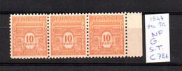 MAURY N° 629 ARC DE TRIOMPHE 1944 NEUF SANS TRACE DE CHARNIERE     COTE 72 € Lot N° 148 - 1921-1960: Période Moderne