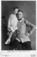 DC23 - Ak Kronprinz Mit Seinem ältesten Sohn - Familias Reales