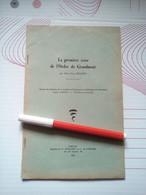 LIMOUSIN HISTOIRE 1e CRISE DE L'ORDRE DE GRANDMONT JEAN BECQUET 1960 ETIENNE DE MURET Religion Abbaye Ambazac - Limousin