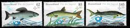 Bund 2015,Michel# 3169 -3171 O Jugend: Fische - Gebruikt