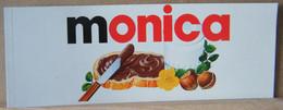 ADESIVI NUTELLA NOMI, MONICA - Nutella