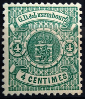 LUXEMBOURG                         N° 28                           NEUF* - 1859-1880 Coat Of Arms