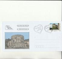 Z1 - Enveloppe Avec Timbre Tour Aux Puces  THIONVILLE - Personalizzati (MonTimbraMoi)