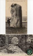 5 Cpa - 77 DIANT Menhir Pierre Aux Couteaux. Fontainebleau, Bilboquet Du Diable, Chapeau De Napoléon, Roche Qui Pleure - Fontainebleau