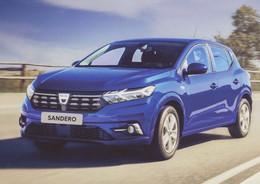 Dacia Sandero  -  Factory Sales Card   -  CPM - Passenger Cars