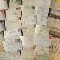 LOT DE 140 CARTES AVEC FLAMMES - 100 - 499 Postcards