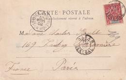 SENEGALE 1902 CARTE POSTALE DE DAKAR - Covers & Documents