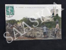 #CPA510 - 16 Gisors Le Donjon Vu De La Tour Du Prisonnier 1908 - Paysage Panorama - Gisors