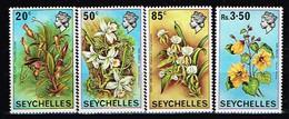 SEYCHELLES / Neufs**/MNH**/ 1970 - Fleurs / YVT N°275/278 - MI.N°282/285 - Seychelles (...-1976)