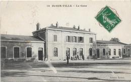 Is Sur Tille : La Gare - Is Sur Tille