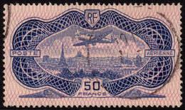 "1936 P.Aérienne, 50 F ""bank Note"" (burelé), Y&T 15, SG 541 - 1927-1959 Used"