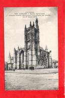 63 - AMBERT : Place Et église Saint Jean En 1918 - Ambert