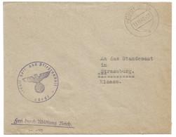 Sk1077 - HORDT (ELS) - 1942 - Franchise Staatl. Hell Und Pflegeanhalt = Maison De Retraite - - Alsace Lorraine