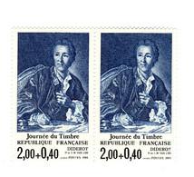 Diderot YT 2304b : Nez Cassé Tenant à Normal . Superbe , Voir Le Scan . Cote YT : 30 € , Maury N° 2307a : 30 € . - Varietà: 1980-89 Nuovi