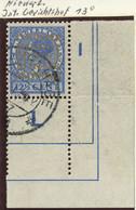 NIEDERLANDE 1938 12 1/2 C Juliane COUR PERMANENTE DE JUSTICE INTERNATIONALE RR!! - Servizio