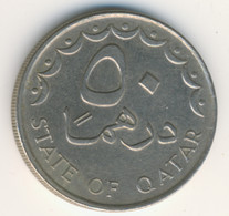 QATAR 1993: 50 Dirhams, KM 5 - Qatar