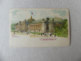 Exposition Universelle De 1900 Le Grand Palais GB 659 Météor - Exposiciones