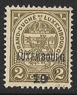 Luxembourg 1919  Prifix Nr. 116 - Voorafgestempeld