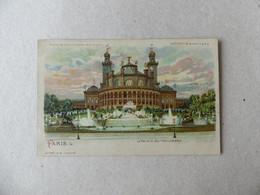 Exposition Universelle De 1900 Le Palais Du Trocadéro  GB 651 Météor - Exposiciones