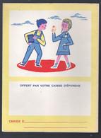 Protège Cahier Caisse D'épargne / Code De La,route   (scans Recto Et Verso) (M1850) - Book Covers