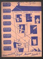 Protège Cahier GLAIZAL Produits Pour La Maison  (scans Recto Et Verso) (M1851) - Book Covers
