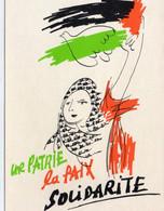 Syndicaliste Syndicat La CGT Solidarité Palestine Patrie Paix Solidarité Politique - Labor Unions