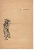 """BAGNES MILITAIRES LIVRET DE CHANSON DEBUT 20è SIECLE """" A BIRIBI"""" ILLUSTRATIONS STEINLEN - 1800 – 1899"""