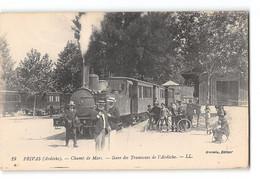 Lot De 50 Cpa France - Theme Chemins De Fer - Trains - Tramways - 5 - 99 Postales