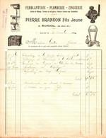 AURIOL . 13 . FERBLANTERIE PIERRE BRANDON - Old Professions