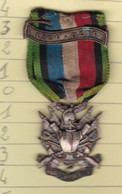 T 3/ PL Milit.7) 4 > Breloque à Identifier En Métal (Fmt Voir Le Scan 1 Cm Entre 2 Trais) - Avant 1871