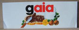 ADESIVI NUTELLA NOMI, GAIA - Nutella