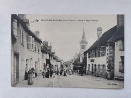 MAGNAC BOURG 87 Haute Vienne ROUTE De PARIS TOULOUSE Carte Postale Ancienne CPA Animee - Other Municipalities