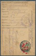 § FRANCHIGIA PM 35° DIVISIONE B 63° RGT FANTERIA BRIGATA CGLIARI X NAPOLI § - War 1914-18