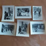 Wasmes 6 Photos Anciennes De La Procession De La Pucelette - Lieux