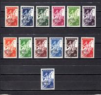 Mónaco   1954-59  .-   Y&T  Nº    11/18    Prematasellado - Prematasellado