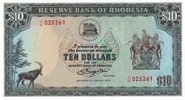 RHODESIE 1979 10 Dollar - P.41a  Neuf UNC - Rhodesia