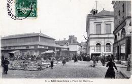 36  CHATEAUROUX MARCHE  PLACE DES HALLES - Chateauroux