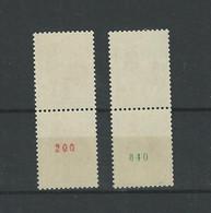 Paire Du N° 1331 B Et 1331 C  A 1331 Normal Valeur 385 € - Rollen