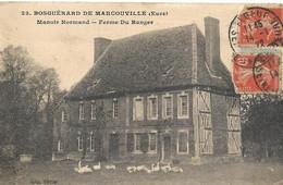 Cpa Bosguérard De Marcouville, Ferme Du Ranger - Other Municipalities