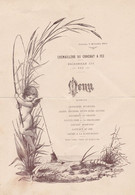 1917 - FEZ - Crémaillère Du CROCHAT à FEZ - Escadrille 551 - MENU - Historische Documenten