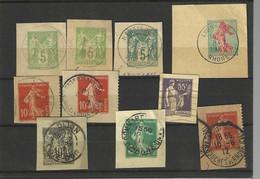Entiers Sur Fraguement - Lots Et Collections : Entiers Et PAP
