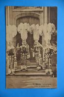 Binche 1926: Le Carnaval - Gilles En Grande Tenue - Binche